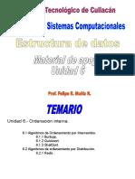 Estructura de Datos ISC Unidad 6