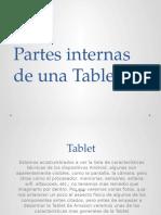 Partes Internas de Una Tablet