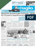 Edición Impresa Elsiglo 17-11-2016