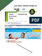 Cara Download n Install DONGLE Serta Menukar Password VLE