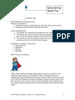 Lp7 Calculating Sales Tax