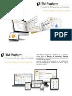 Principales Prestaciones - ITM Platform