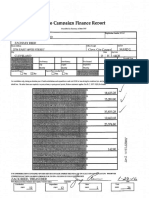 Zach Reed Ohio Campaign Finance Report