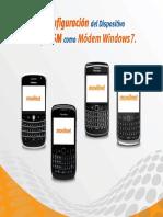 Conexion BlackBerry Como Modem GSM Para Windows7