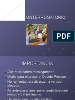 CONTRA INTERROGATORIO.ppt