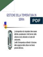 Gestione Temperature