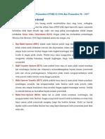Buku Kerjasama (Kso) Bid Keuangan