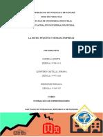 Introducción, Definicion de Las Microempresas