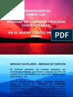 Diapositivas_jurisprudencia en Medidas de Coercion Procesal