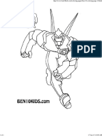 Ben 10 Coloring Page1