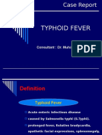 Case Report Typhoid Fever