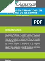 NOM-052-SEMARNAT-2005 en Materia de Residuos