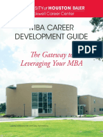 MBA Career Development Guide