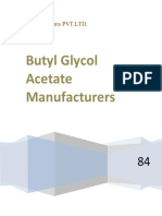 Butyl Glycol Acetate Manufacturers