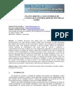 Projeto de Planta Didática Com Controle de Posicionamento Angular e Controlador de Múltiplas Ações