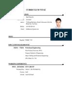 CV Sy Process