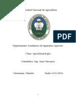 Agroclimatologís