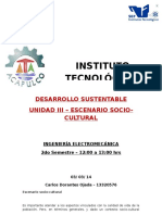 DOC Unidad III. Escenario Socio-cultural.