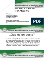 Postes Para Redes Eléctricas