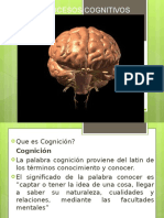 128038174 Clase Procesos Cognitivos Ppt