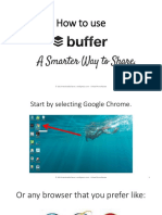 How to Use Buffer - Monico de Chavez - Virtual Powerhouse