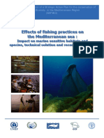 Effects of fishing practices on the Mediterranean sea