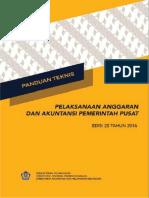 Panduan Teknis Edisi 20 Tahun 2016