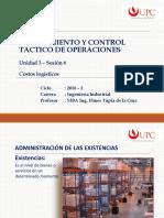 Unidad 3 - Sesión 6 - Costos Logisticos PCT2 - EPE 2016-2