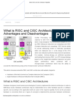 What is RISC and CISC Architecture _ Edgefxkits