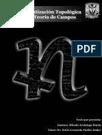 Cuantización Topológica de Campos