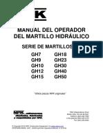 Manual Martillo Hidraulico