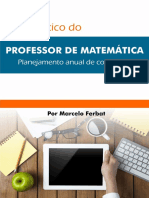 Manual Professor de Matematica Planejamento Anual eBook