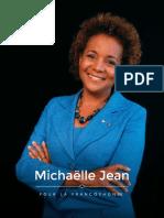 Michaëlle Jean Plaidoyer