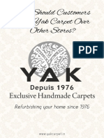 Why Should Customers Pick Yak Carpet Over Other Stores?