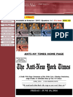 Anti New York Times - June 2016