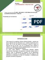 RESISTENCIA 1 ESFUERZOS I DEFORMACIONES EN UNIDADES CILINDRICAS