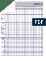 Sample 1.1 Annual Plan Blank