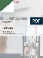 FortiGate I Student Guide-Online
