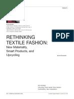 Rethinking Textile Fashion
