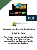 Business Membership Package