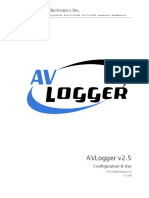 974-9300 AVLogger Configuration & Use Manual Rev A