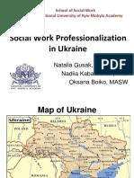 Social Work in Ukraine
