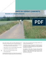 Road Pavements of Cement Concrete
