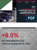 Pacasmayo Memoria Anual 2013