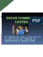 PRESENTACION DE OSCAR