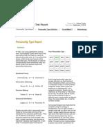 myplan com    personality test report html