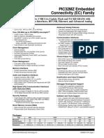 PIC32MZ EC Family Datasheet