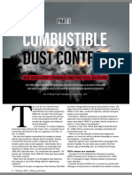 Combustible dust control - part 1