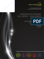 Gsa Hr Skills Survey Large Agencies Report 0
