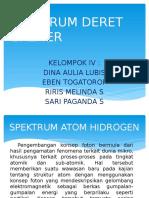 Spektrum Deret Balmer